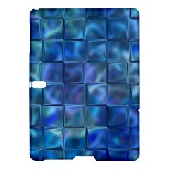 Blue Squares Tiles Samsung Galaxy Tab S (10 5 ) Hardshell Case