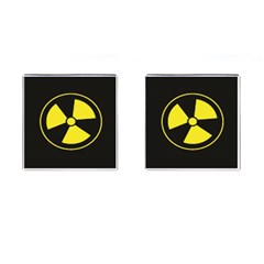 Hazzard Warning Cufflinks (square)