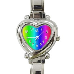 Crayon Box Heart Italian Charm Watch