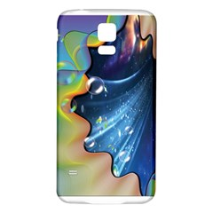 Cocktail Bubbles Samsung Galaxy S5 Back Case (White)