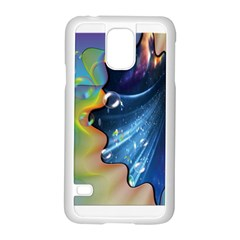 Cocktail Bubbles Samsung Galaxy S5 Case (White)