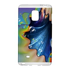 Cocktail Bubbles Samsung Galaxy Note Edge Hardshell Case