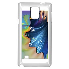 Cocktail Bubbles Samsung Galaxy Note 4 Case (White)
