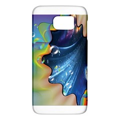 Cocktail Bubbles Samsung Galaxy S6 Hardshell Case