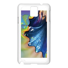 Cocktail Bubbles Samsung Galaxy Note 3 N9005 Case (White)