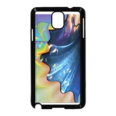 Cocktail Bubbles Samsung Galaxy Note 3 Neo Hardshell Case (Black)