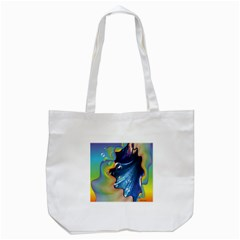 Cocktail Bubbles Tote Bag (White)