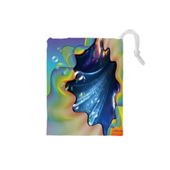 Cocktail Bubbles Drawstring Pouch (Small)