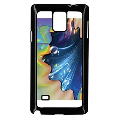 Cocktail Bubbles Samsung Galaxy Note 4 Case (Black)