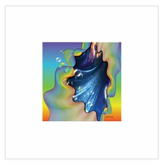 Cocktail Bubbles Large Satin Scarf (Square)