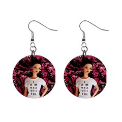 I am beautiful - Isabela Mini Button Earrings