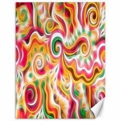 Sunshine Swirls Canvas 12  X 16  (unframed)