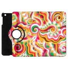 Sunshine Swirls Apple Ipad Mini Flip 360 Case