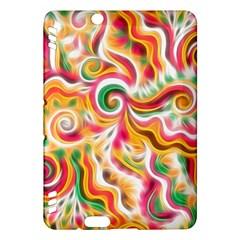 Sunshine Swirls Kindle Fire Hdx Hardshell Case