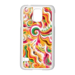 Sunshine Swirls Samsung Galaxy S5 Case (White)