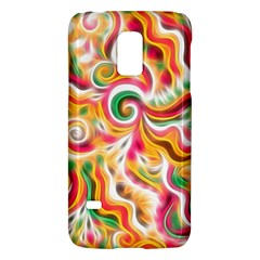 Sunshine Swirls Samsung Galaxy S5 Mini Hardshell Case