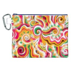 Sunshine Swirls Canvas Cosmetic Bag (XXL)