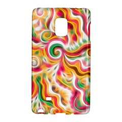 Sunshine Swirls Samsung Galaxy Note Edge Hardshell Case