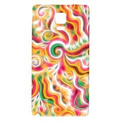Sunshine Swirls Samsung Note 4 Hardshell Back Case