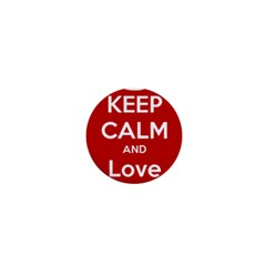 Keep Calm And Love Music 5739 1  Mini Button