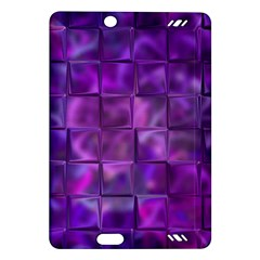 Purple Squares Kindle Fire HD (2013) Hardshell Case