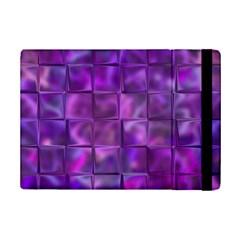 Purple Squares Apple iPad Mini 2 Flip Case