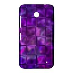 Purple Squares Nokia Lumia 630 Hardshell Case