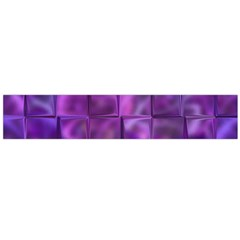 Purple Squares Flano Scarf (Large)
