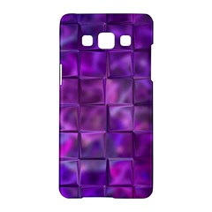 Purple Squares Samsung Galaxy A5 Hardshell Case