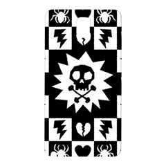 Goth Punk Skull Checkers Samsung Galaxy Note 3 N9005 Hardshell Back Case