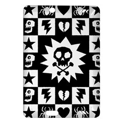 Goth Punk Skull Checkers Kindle Fire HD (2013) Hardshell Case
