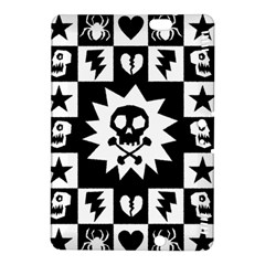 Goth Punk Skull Checkers Kindle Fire HDX 8.9  Hardshell Case