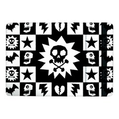 Goth Punk Skull Checkers Samsung Galaxy Tab Pro 10.1  Flip Case