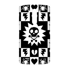 Goth Punk Skull Checkers LG G3 Back Case