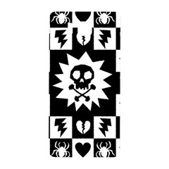 Goth Punk Skull Checkers Samsung Galaxy Alpha Hardshell Back Case