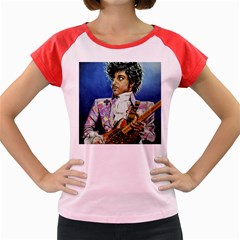 The Purple Rain Tour Women s Cap Sleeve T Shirt (colored)