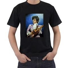The Purple Rain Tour Men s Two Sided T-shirt (Black)
