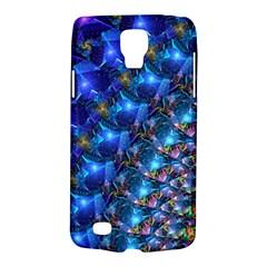 Blue Sunrise Fractal Samsung Galaxy S4 Active (i9295) Hardshell Case