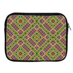 Multicolor Geometric Ethnic Seamless Pattern Apple Ipad Zippered Sleeve