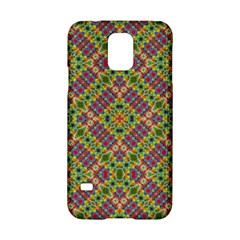 Multicolor Geometric Ethnic Seamless Pattern Samsung Galaxy S5 Hardshell Case