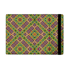 Multicolor Geometric Ethnic Seamless Pattern Apple iPad Mini 2 Flip Case