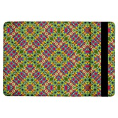 Multicolor Geometric Ethnic Seamless Pattern Apple Ipad Air Flip Case