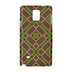 Multicolor Geometric Ethnic Seamless Pattern Samsung Galaxy Note 4 Hardshell Case
