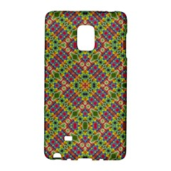 Multicolor Geometric Ethnic Seamless Pattern Samsung Galaxy Note Edge Hardshell Case