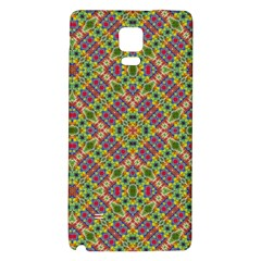 Multicolor Geometric Ethnic Seamless Pattern Samsung Note 4 Hardshell Back Case