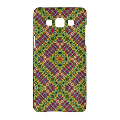 Multicolor Geometric Ethnic Seamless Pattern Samsung Galaxy A5 Hardshell Case