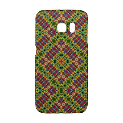 Multicolor Geometric Ethnic Seamless Pattern Samsung Galaxy S6 Edge Hardshell Case