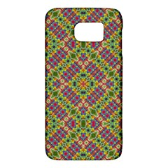 Multicolor Geometric Ethnic Seamless Pattern Samsung Galaxy S6 Hardshell Case