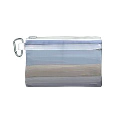 Painted Pompey Beach Canvas Cosmetic Bag (Small)