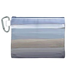 Painted Pompey Beach Canvas Cosmetic Bag (XL)